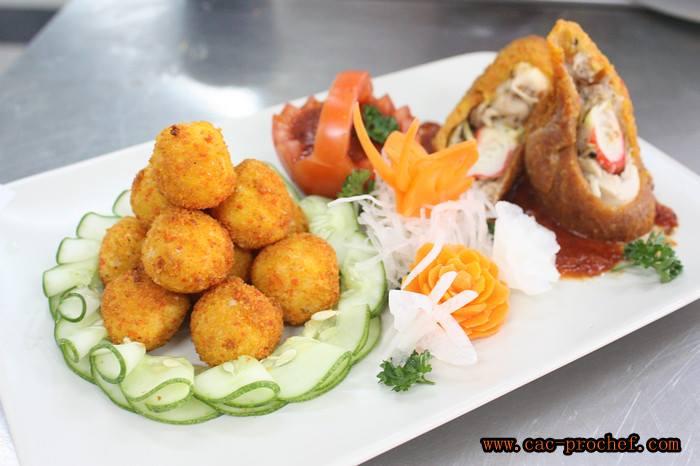 gallery food presentation